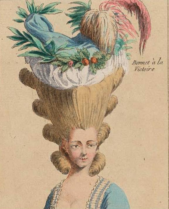 La mode des poufs à la Cour de Marie-Antoinette | Plume d'histoire