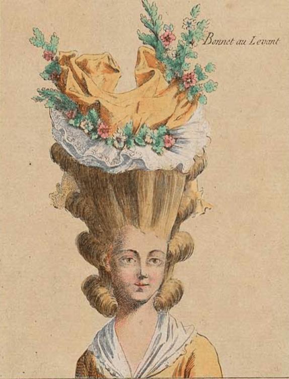 La Mode Des Poufs A La Cour De Marie Antoinette Sgel28 Over Blog Com
